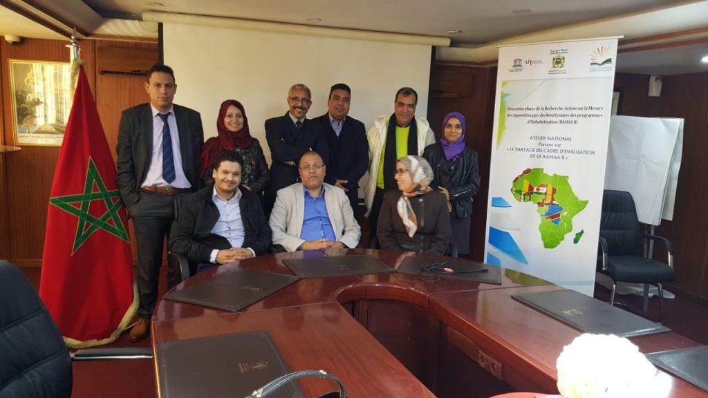 RAMAA II Atelier national sur le cadre d'évaluation   11 mars 2019